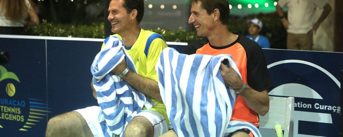 Jacco Eltingh en Paul Haarhuis zijn de oprichters van TennisEvents